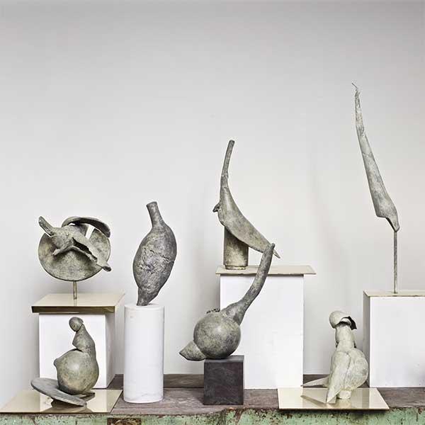 Fioretti , Coquilles et Oiseaux Bronzes, 2016